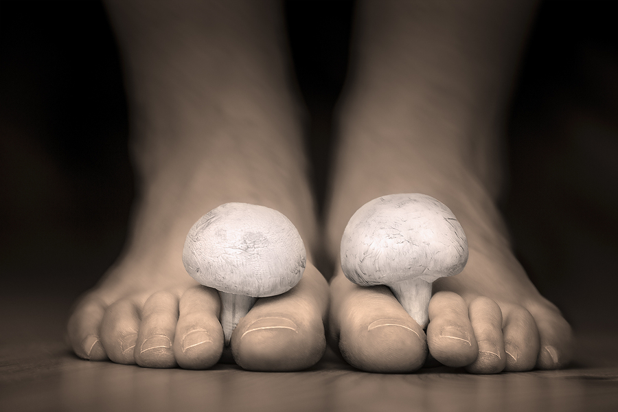athlete's feet